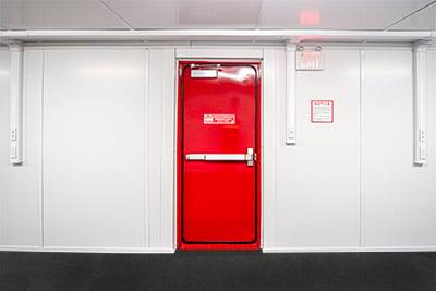 Blast-resistant-Door-Interior