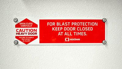 blast-resistant-door-sign