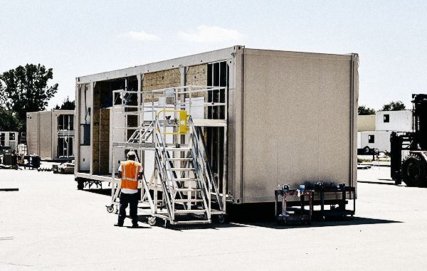 Modular Blast Protection: Rethinking the Permanent Building